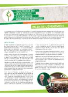 Bilan de la Conférence sur le chauffage à la biomasse forestière résiduelle