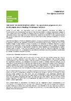 Lancement de Vision Biomasse Québec: des organisations proposent de créer 16 000 emplois dans le chauffage à la biomasse forestière