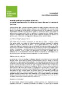 Communiqué de presse – Nouvelle politique énergétique québécoise : la filière du chauffage à la biomasse forestière doit faire partie de la solution (mars 2015)