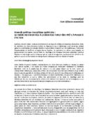 Communiqué de presse – Nouvelle politique énergétique québécoise : la filière du chauffage à la biomasse forestière prête à passer à l'action (avril 2016)