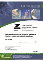 Étude sur le potentiel économique de la biomasse forestière pour le chauffage des bâtiments (2012)