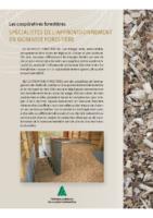 Les Coopératives forestières : spécialistes de l'approvisionnement en biomasse forestière